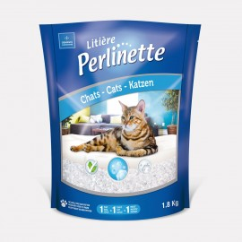 LITIERE CHAT PERLINETTE CRISTAUX PREMIUM 4 L