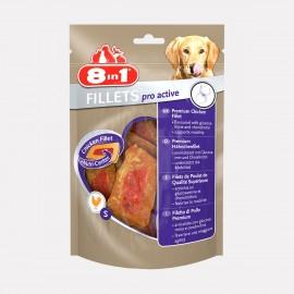 FRIANDISES filet poulet PRO ACTIVE sachet 80 gr