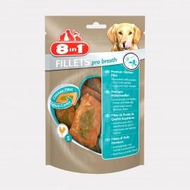 FRIANDISES filet poulet PRO BREATH sachet 80 gr