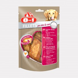 FRIANDISES filet poulet PRO SKIN & COAT sachet 80 gr