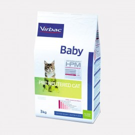 VIRBAC VET HPM CHAT Baby Pré Neutered