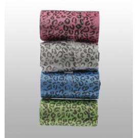 Sacs Ramasse Crottes à motif léopard - 4 rouleaux de 20 sacs