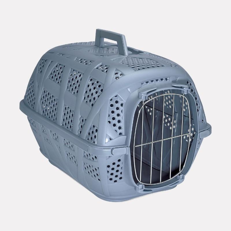 cage transport pour chat carry bleu 10 petits z bres. Black Bedroom Furniture Sets. Home Design Ideas