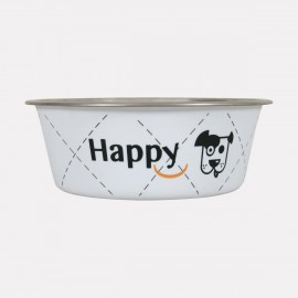 Gamelle inox Happy Dog - plusieurs tailles
