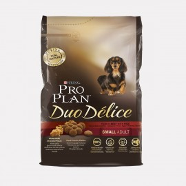 PURINA PROPLAN CHIEN Adult Duo Delice SMALL au Boeuf - Sac de 2.5Kg