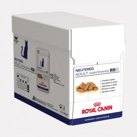 ROYAL CANIN VCN Cat Neutered Adult Maintenance 12 sachets fraicheur 100g
