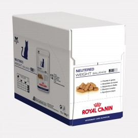 ROYAL CANIN Chat NEUTERED WEIGHT BALANCE Bouchees En Sauce 12x100g