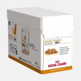 ROYAL CANIN Chat Senior Consult Stage 1 Balance Bouchées en sauce 12 x 100g