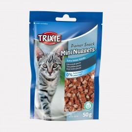 Friandises pour chat sans gluten - mini nuggets trainer snacks 50 gr