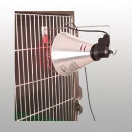 Lampe infrarouge Support de lampe à fixer