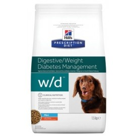 HILL'S PRESCRIPTION DIET CHIEN W/D Mini Sac de 1.5 kg