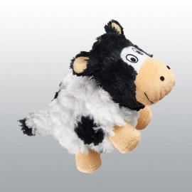 Jouet KONG BarnYard Cruncheez Vache pour chien