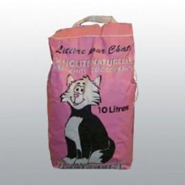 Litière pour Chat Naturelle DéoFéline 10 litres