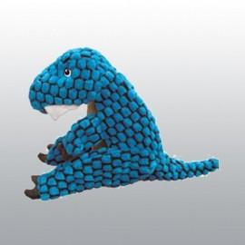 Jouet KONG Dynos T-Rex Bleu