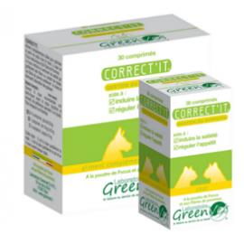 Greenvet Correct'it Coupe faim Chien - 1 boite de 30 cp