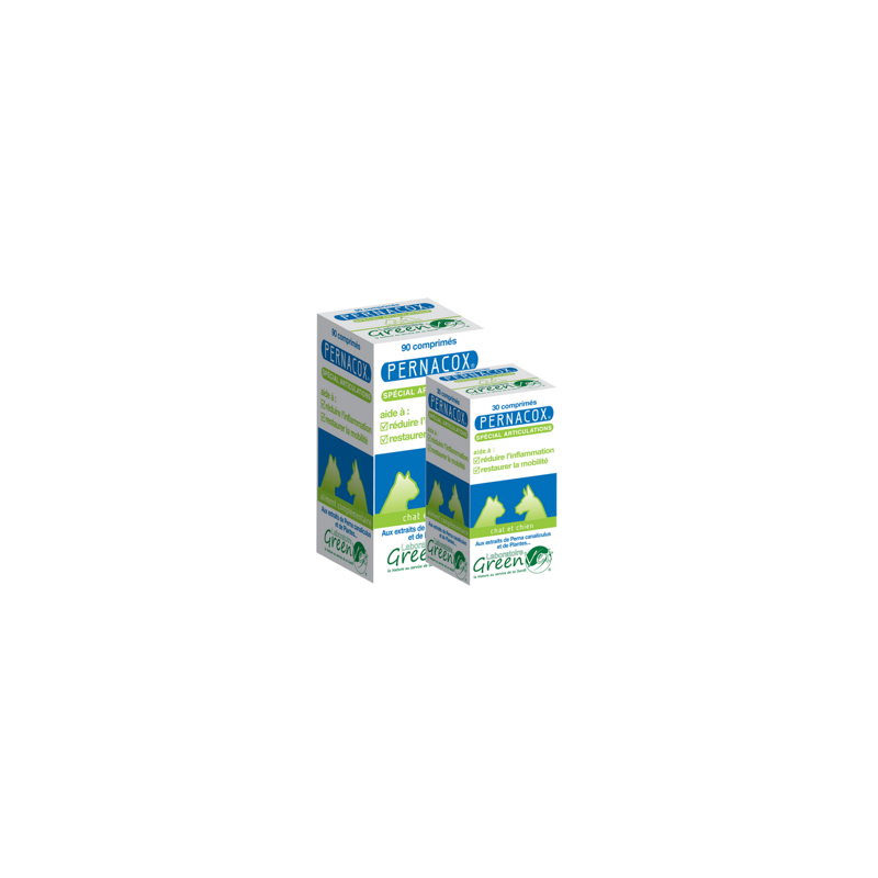 Greenvet Pernacox Articulations - 1 boite de 30 cp