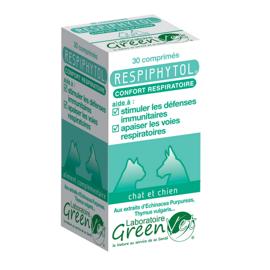 Greenvet Respiphytol - 1 boite de 30 cp