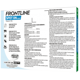 Frontline Spot-On Chat 4 Pipettes