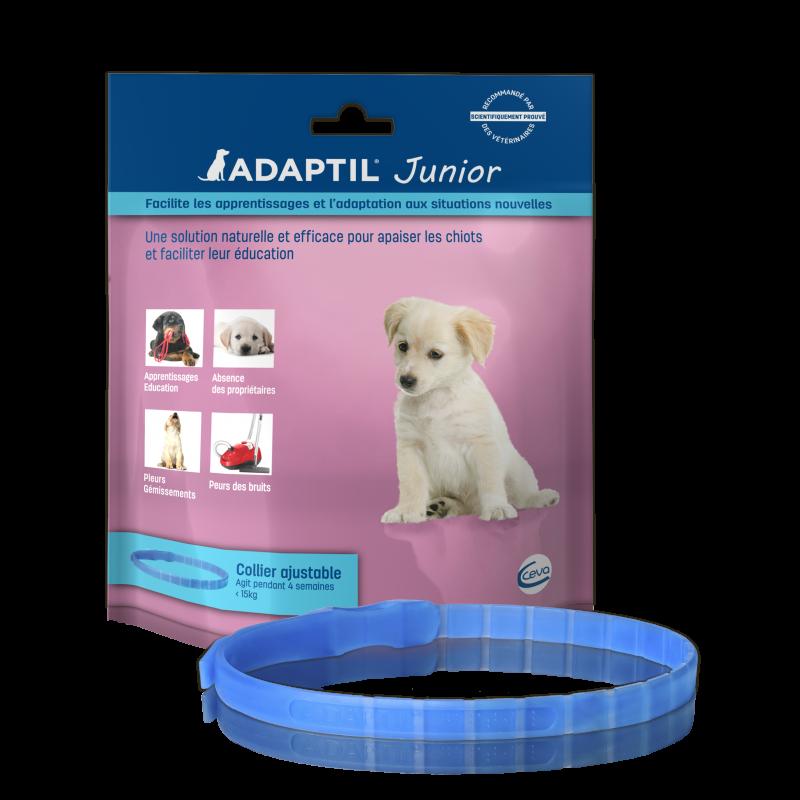 ADAPTIL Junior Collier anti stress et de socialisation pour chiot
