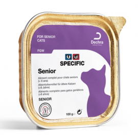 SPECIFIC Chat FGW Senior : 7 barquettes de 100 g