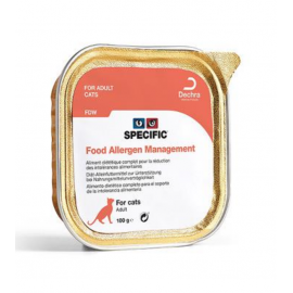 SPECIFIC Chat FDW FOOD ALLERGY Management : 7 barquettes de 100G