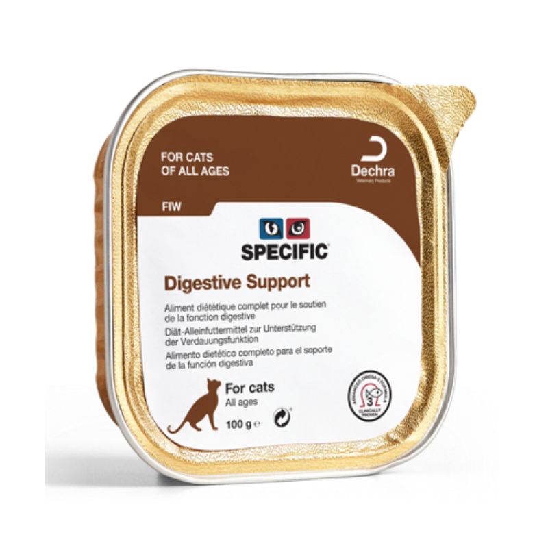 SPECIFIC Chat FIW Digestive Support : 7 barquettes de 100g