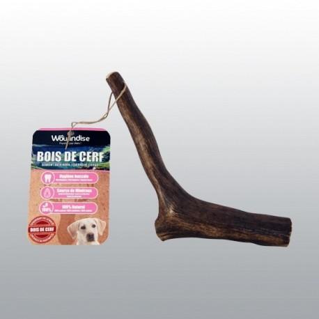 Bois de cerf à grignoter - Friandise pour grand chien (150 - 224gr)