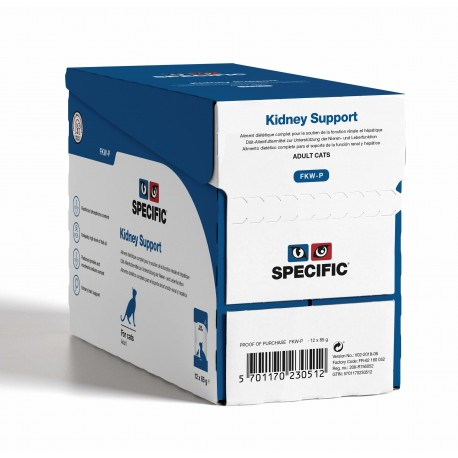 SPECIFIC Chat FCW-P Kidney Support12 sachets 85g