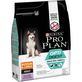 PROPLAN CHIEN Adult Médium & Large Optidigest Grain Free 2,5 kg