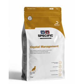 SPECIFIC Chat FCD Crystal Management : Sac de 0,4KG / 2KG / 7KG