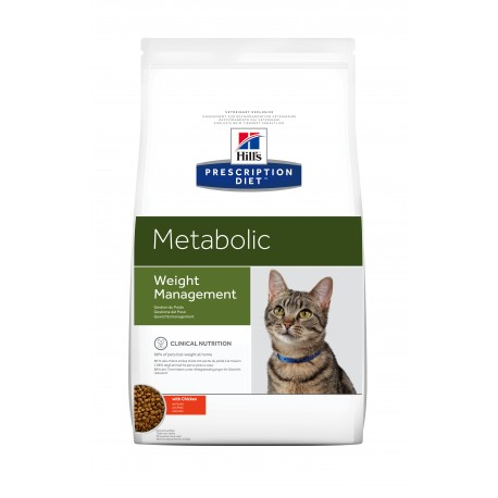 HILL'S PRESCRIPTION DIET CHAT Metabolic Sac de 4 kg