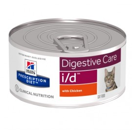 HILL'S PRESCRIPTION DIET CHAT I/D 24 Boîtes de 156 g