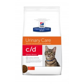 HILL'S PRESCRIPTION DIET CHAT C/D Urinary Stress au Poulet Sac de 4 kg