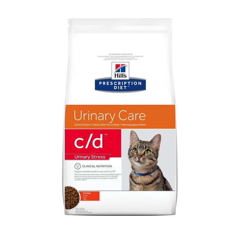 HILL'S PRESCRIPTION DIET CHAT C/D Urinary Stress au Poulet Sac de 4 kg