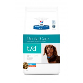 HILL'S PRESCRIPTION DIET CHIEN T/D Mini Sac de 3 kg