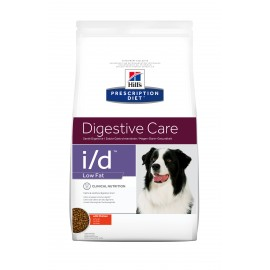 HILL'S PRESCRIPTION DIET CHIEN I/D Low Fat Sac de 12 kg