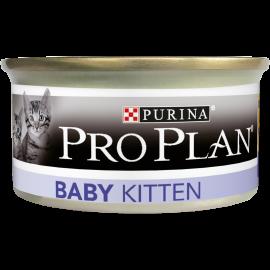 PROPLAN CHAT Baby Kitten - 24 boites de 95gr