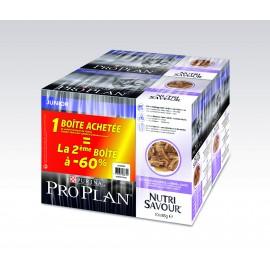 PROPLAN CHAT Nutrisavour Junior à la Dinde - 10 sachets fraicheur de 85 gr (lot de 2)