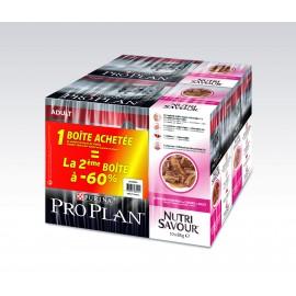 PROPLAN CHAT Nutrisavour Adult au Canard 10 sachets fraîcheur de 85 gr (lot de 2)
