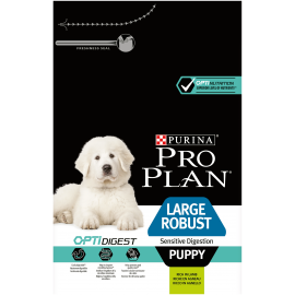 PROPLAN CHIEN Puppy Large Robust OPTIDIGEST à l'agneau - Sac de 3Kg