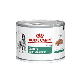 ROYAL CANIN Chien SATIETY Weight Management - plateau de 12 boîtes de 195 g
