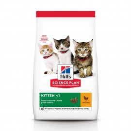 HILL'S SCIENCE PLAN CHAT Kitten au Poulet - Sac de 3 kg