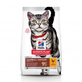 HILL'S SCIENCE PLAN Chat Adult Hairball Indoor - Sac de 1.5 kg