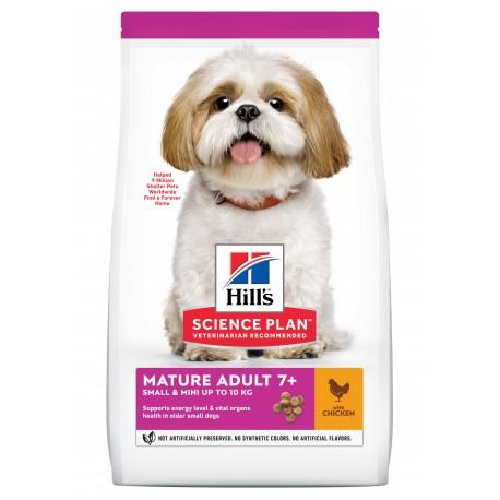 HILL'S SCIENCE PLAN CHIEN Mature Adult 7+ Small & Mini - Sac de 3 kg