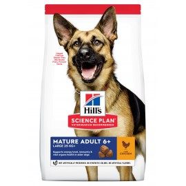 HILL'S SCIENCE PLAN CHIEN Mature Adult 6+ Large Breed - Sac de 18 Kg