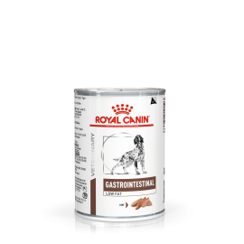ROYAL CANIN Chien Gastro Intestinal Low Fat- plateau de 12 boîtes de 410gr