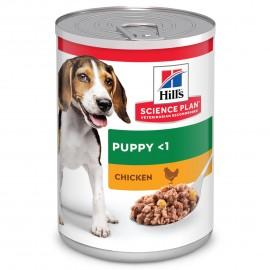 HILL'S Science plan Puppy - 12 boites de 370 g