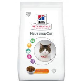 HILL'S VET ESSENTIALS CHAT Neutered Young Adult au Poulet - Sac de 1.5 kg