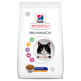 HILL'S VET ESSENTIALS CHAT Neutered Mature au Poulet - Sac de 2.5 kg