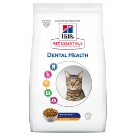 HILL'S VET ESSENTIALS CHAT Mature Dental Health au Poulet -Sac de 2,5kg